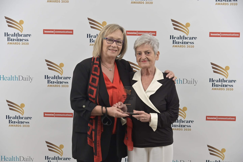 Ο Όμιλος Εθελοντών κατά του Καρκίνου- ΑγκαλιάΖΩ  βραβεύτηκε με το χάλκινο βραβείο από τα Healthcare Business Awards