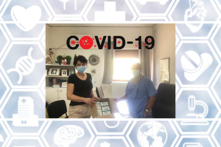 """Μια δωρεά του συλλόγου """"ΜΑΖΙ ΓΙΑ ΖΩΗ"""" με τεστ ταχείας διάγνωσης Covid-19 θωρακίζει το Κέντρο Υγείας Ορεστιάδας"""