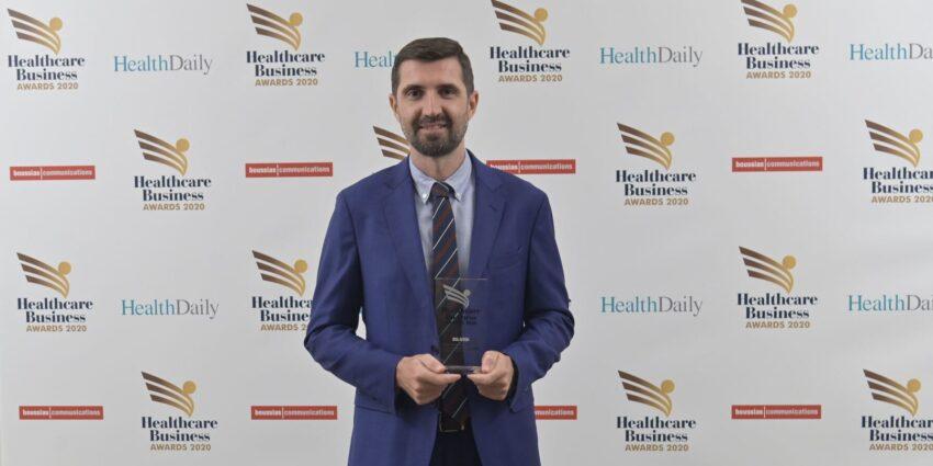 Διάκριση του κοινωνικού έργου της Ένωσης στα Healthcare Business Awards