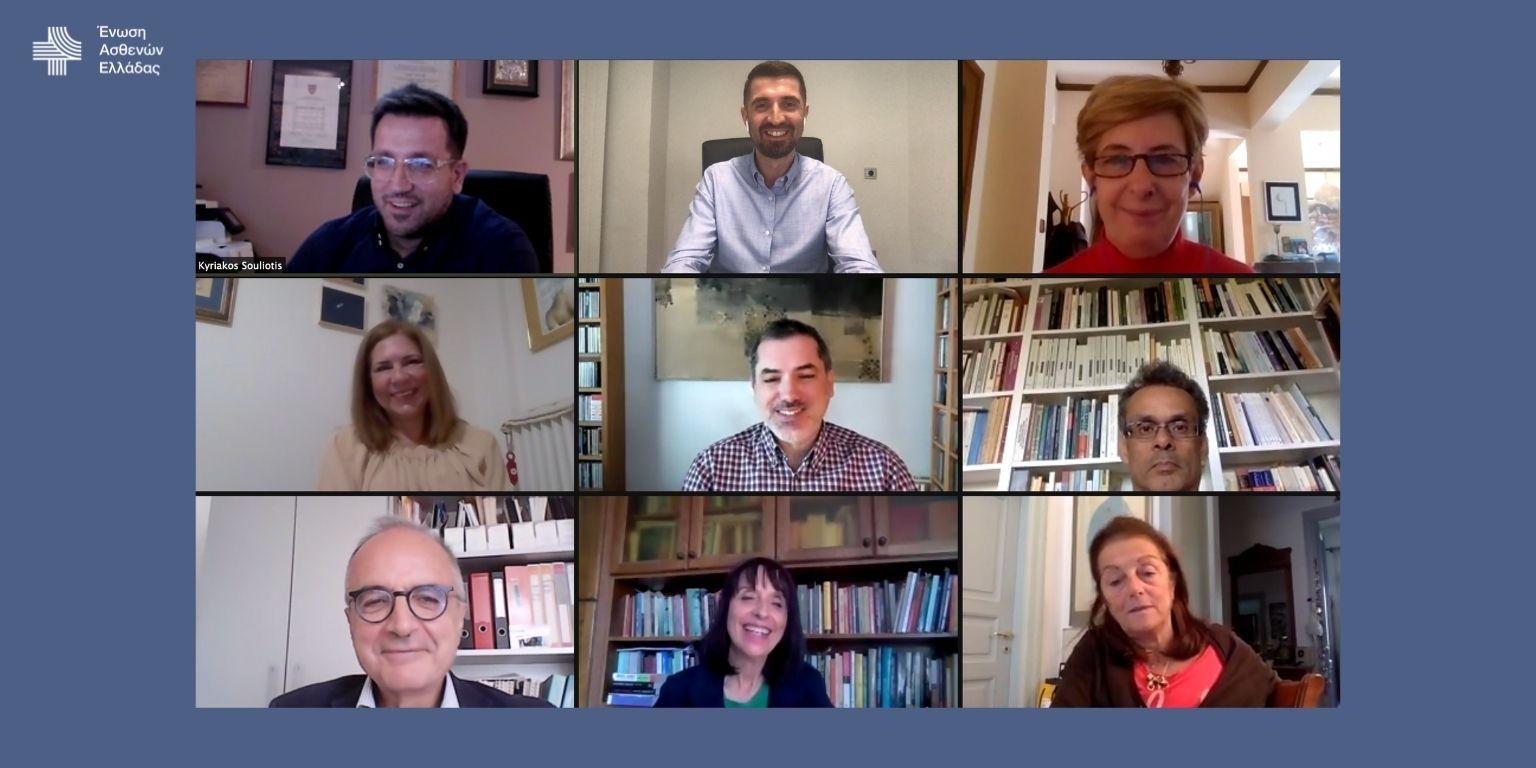 Η Ένωση Ασθενών Ελλάδας ανακοινώνει τη σύνθεση της Επιστημονικής Επιτροπής της με επικεφαλής τον Καθηγητή Κυριάκο Σουλιώτη
