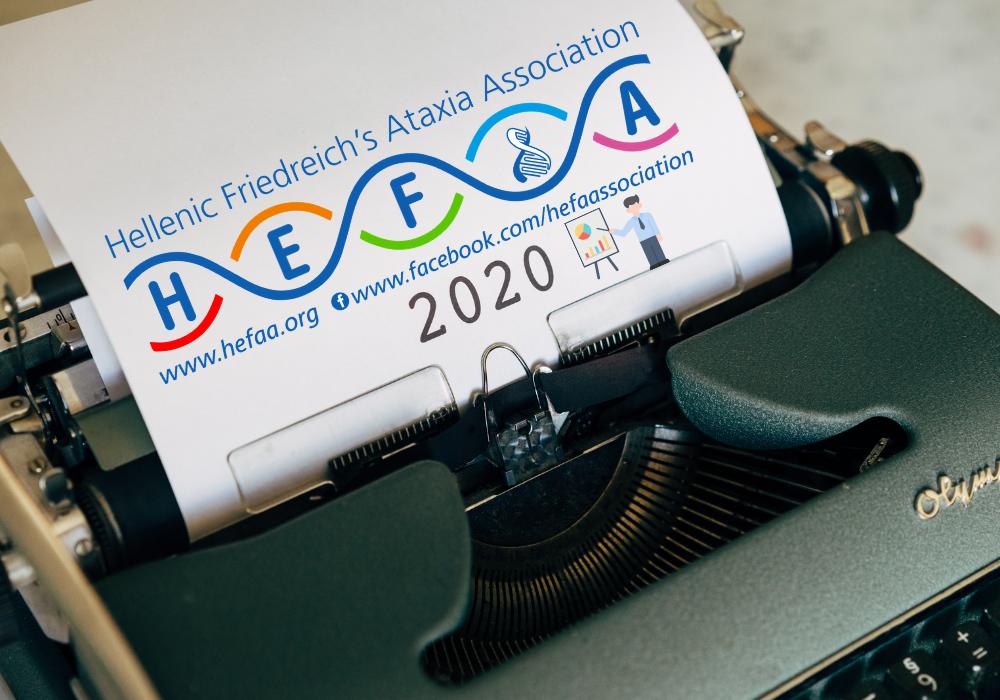 Απολογισμός 2020 για τον Ελληνικό Σύλλογο για την Αταξία του Φρίντριχ