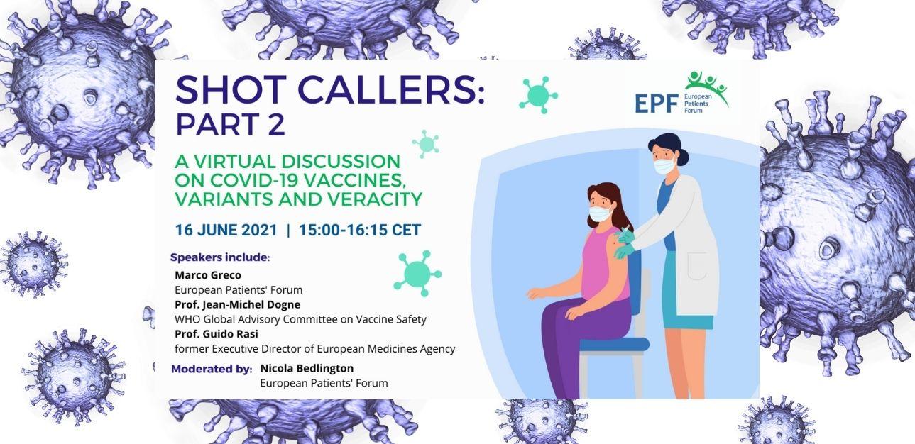 Διαδικτυακή ενημερωτική εκδήλωση του EPF για τα εμβόλια COVID-19 στις 16 Ιουνίου
