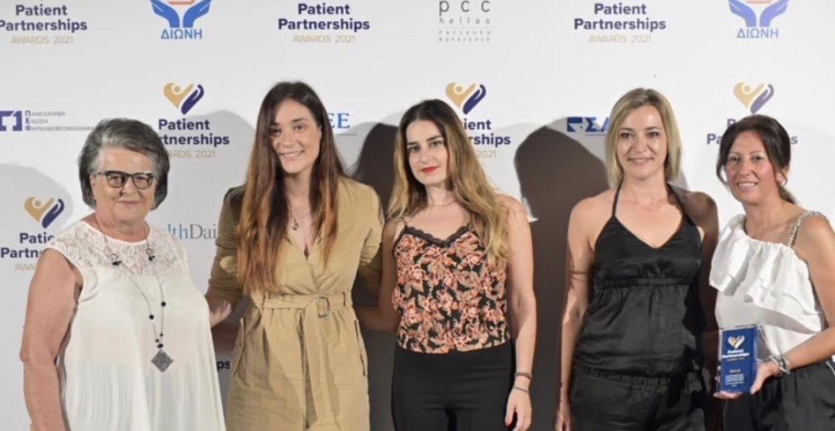 Κ3 | 1ο βραβείο Patient Partnerships Awards 2021